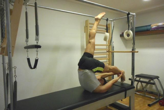 Gimnasios. Pilates. Yoga. Entrenamiento.