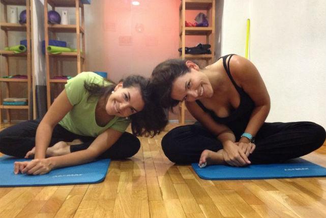 Pilates con Reformer en dúo