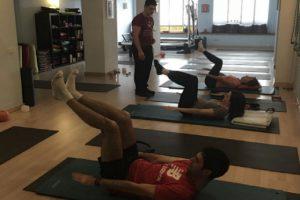 clases pilates en grupo