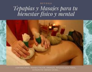 Masajes y terapias en Barcelona