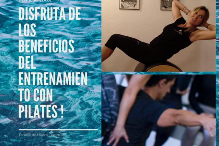 Pilates en Barcelona. Pilates con máquinas clases privadas. Pilates mat en grupo.
