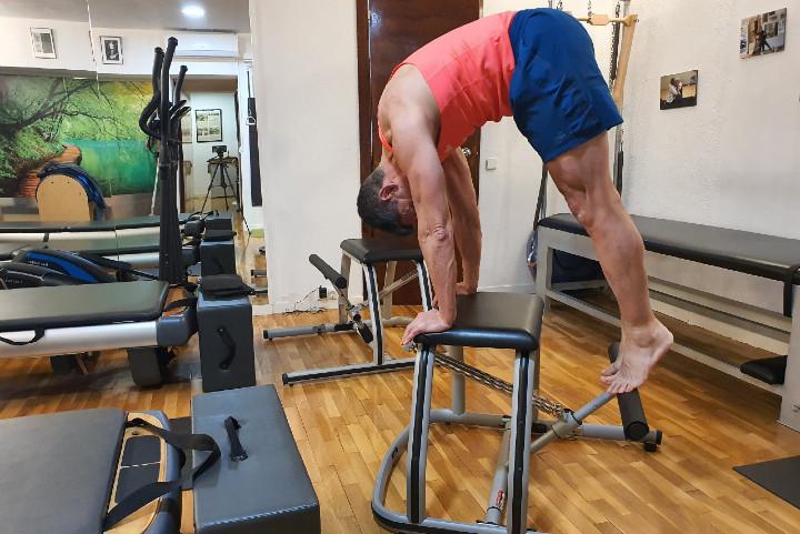 Progresando con el método Pilates